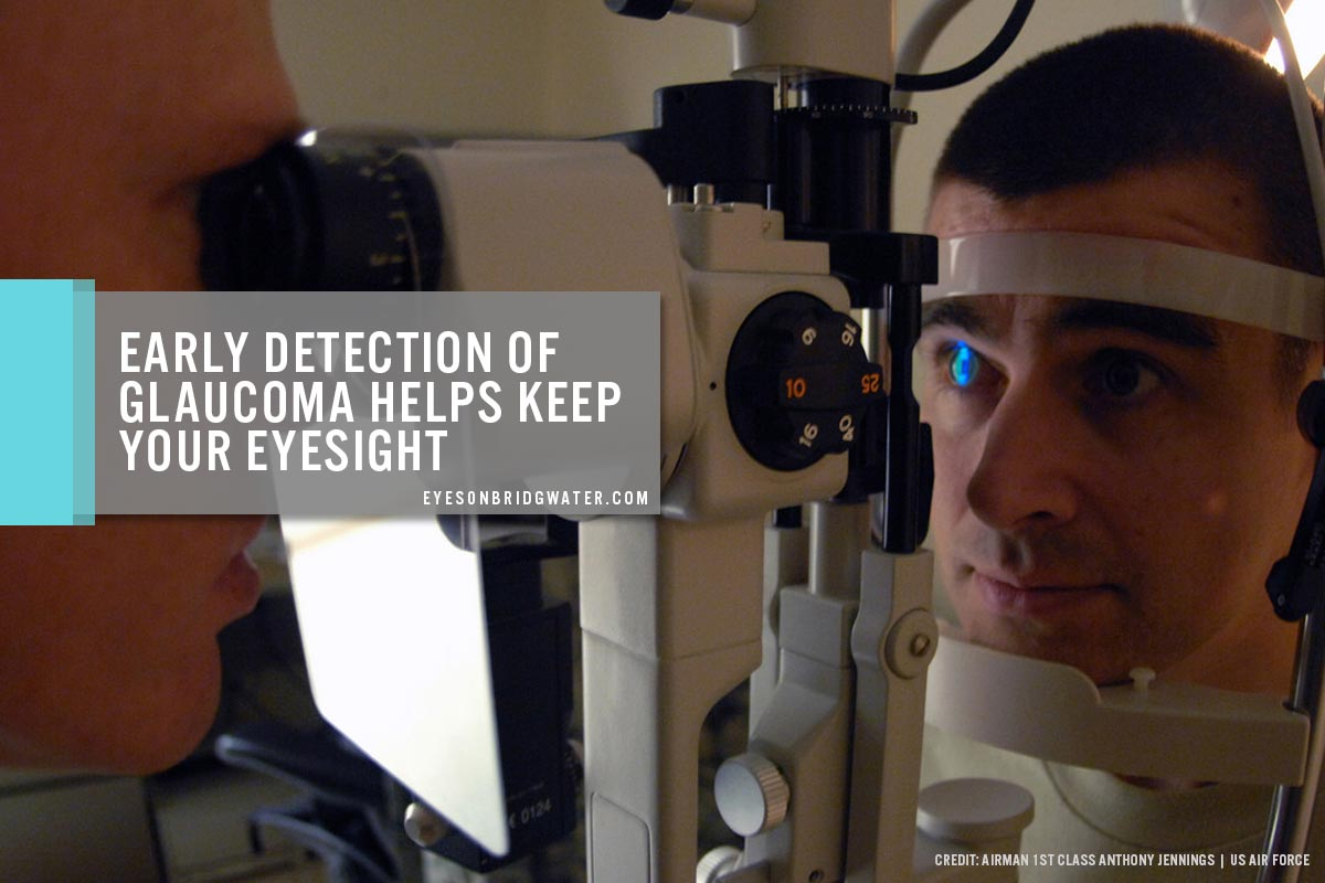 Early detection of glaucoma helps keep your eyesight