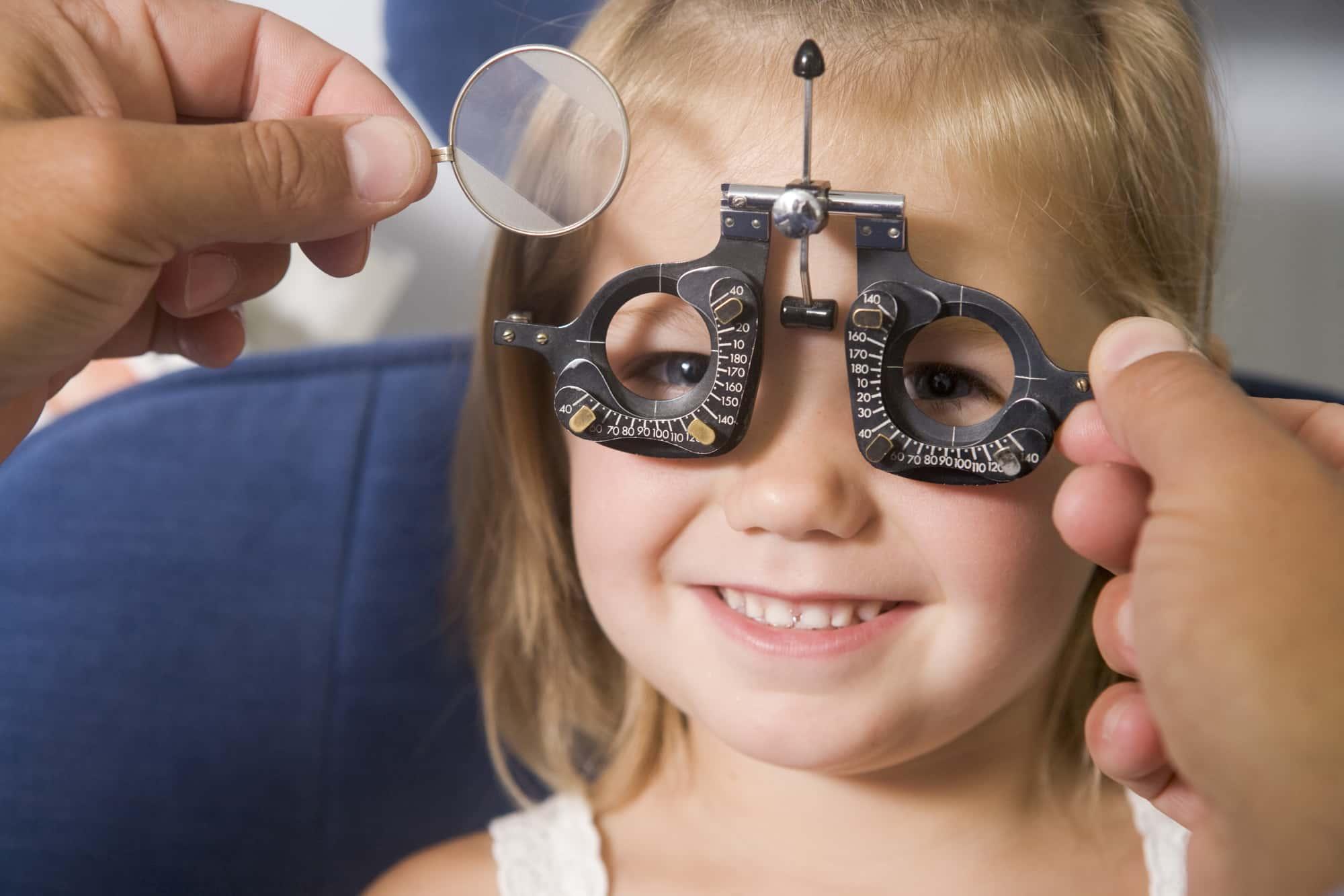 kids Eye Exam Winnipeg